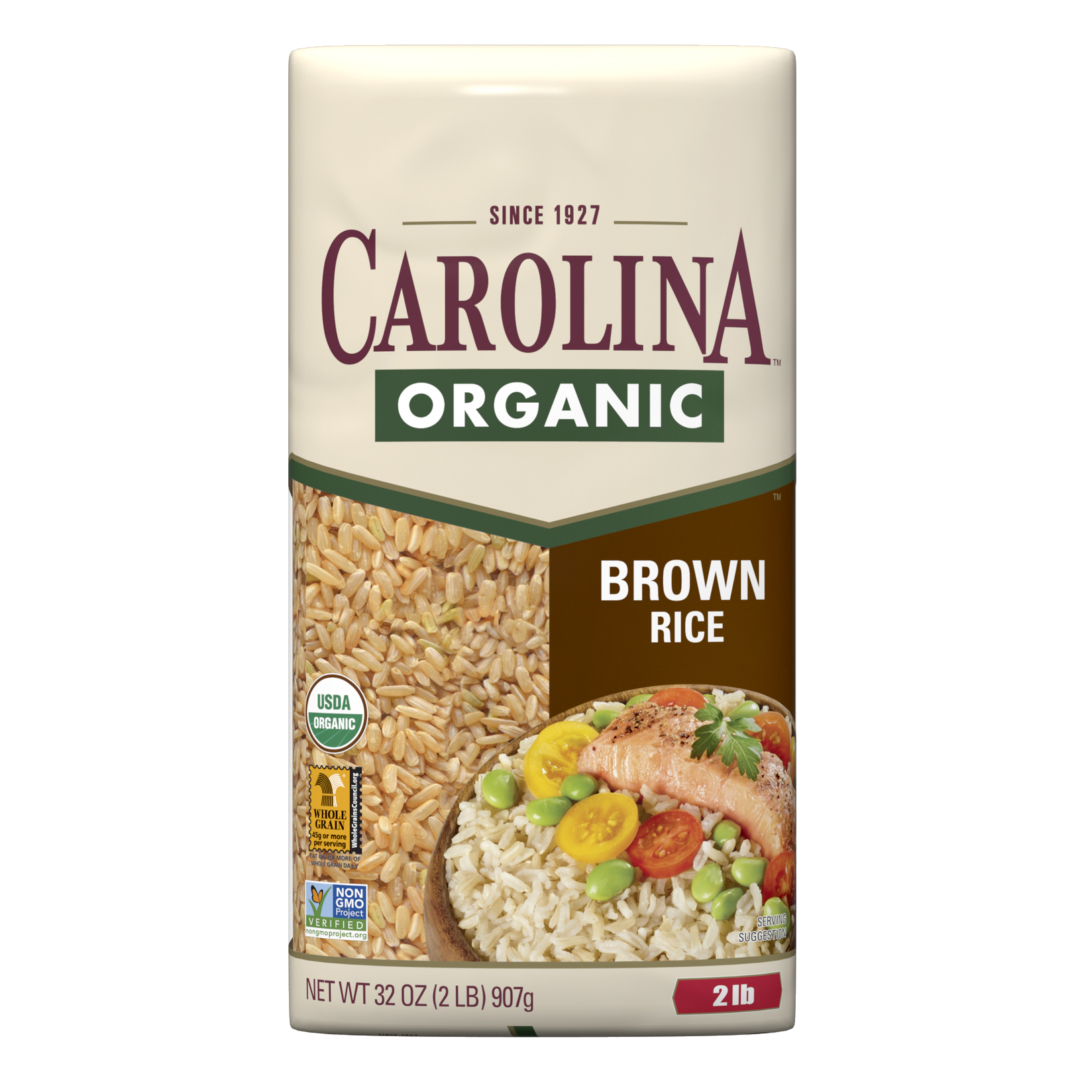 Carolina Organic Brown Rice Package