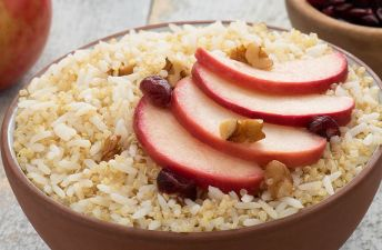Apple Cinnamon Breakfast Jasmine Rice & Quinoa