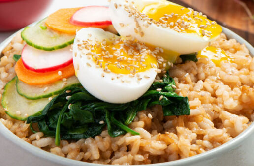 Bibimbap Rice Bowl