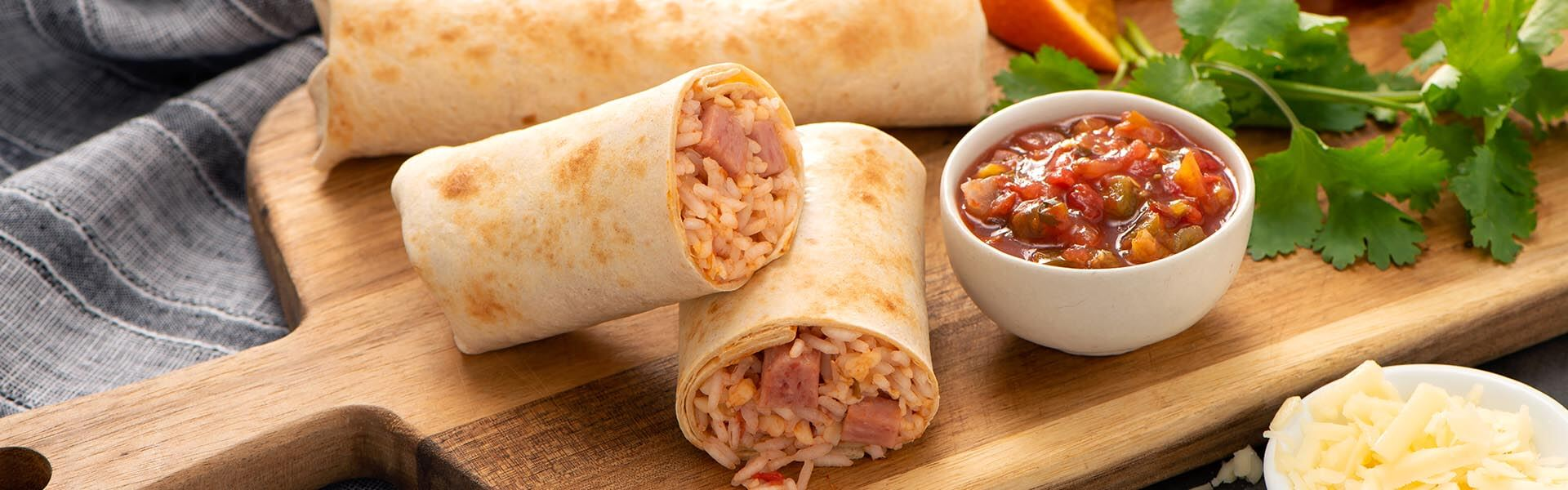 Breakfast Mexican Wraps