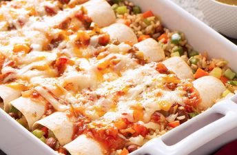 Brown Rice Enchiladas