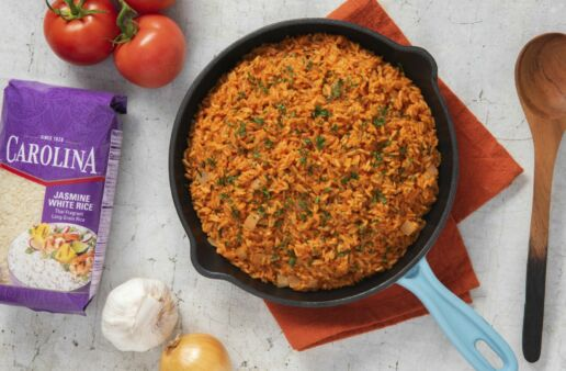 Spanish-Rice-with-Carolina-Thai-Jasmine-Rice-and-Tomatoes