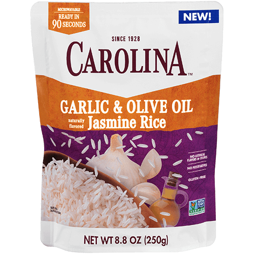 Carolina® Ready to Serve Garlic & Olive Oil Jasmine Rice