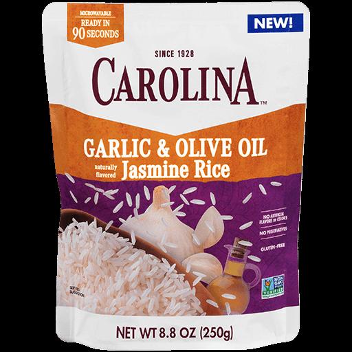 Carolina® Ready to Serve Garlic & Olive Oil Jasmine Rice