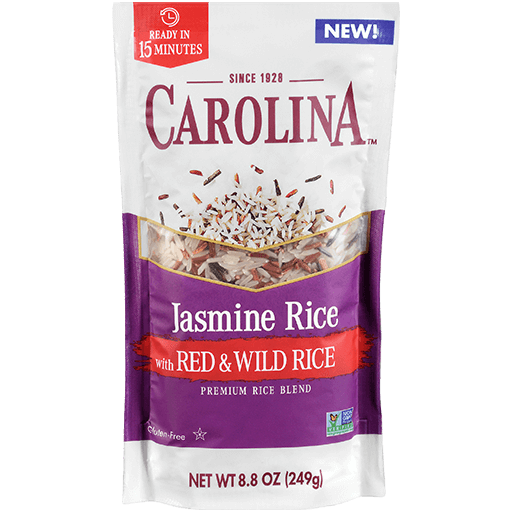 Carolina® Jasmine with Red & Wild Rice