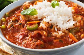 Chicken Tomato Basil Rice Soup