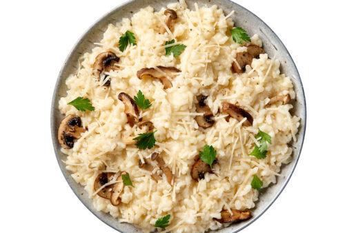 Creamy Mushroom Risotto
