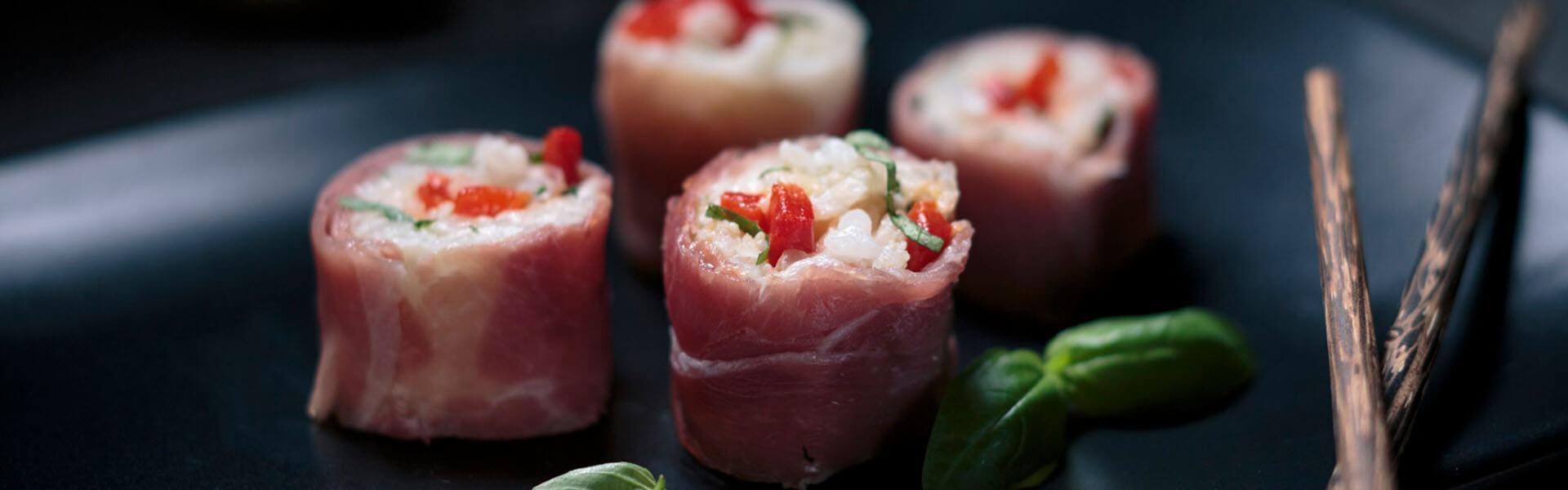 Italian Sushi with Arborio Rice