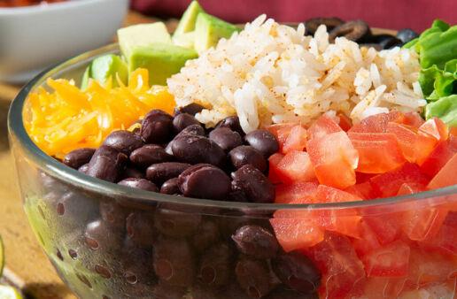 Jasmine Rice & Quinoa Taco Bowls