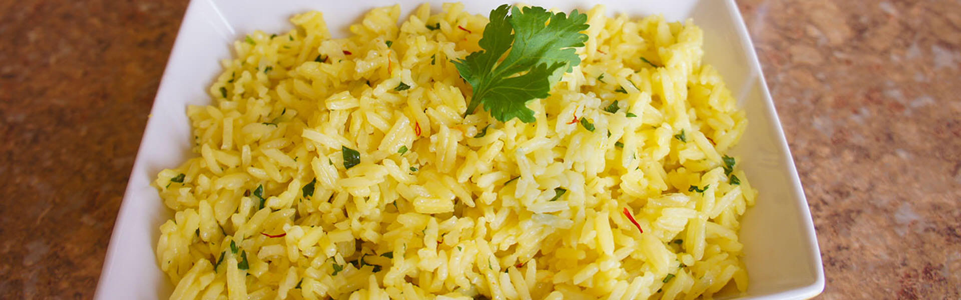 Cilantro Lime and Saffron Basmati Rice