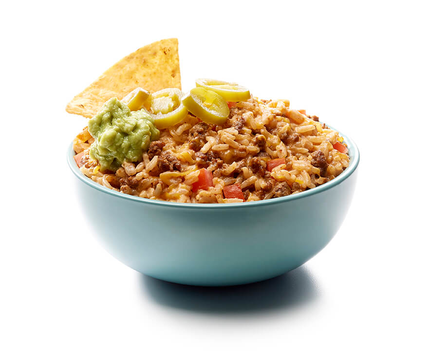 Loaded Nacho Rice Dip