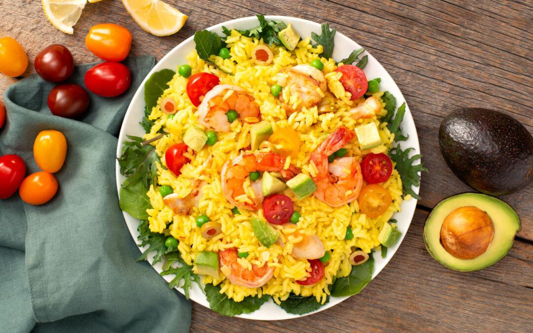 Rice Salad Ideas to Help You Eat the Rainbow