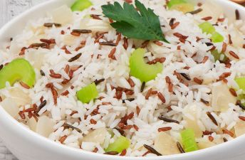 Pilaf Rice Mix with vegetables and spices