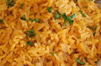 Spanish rice with jasmine