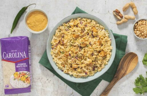 rice-salad-with-spicy-chicken-jasmine-rice-and-peanuts