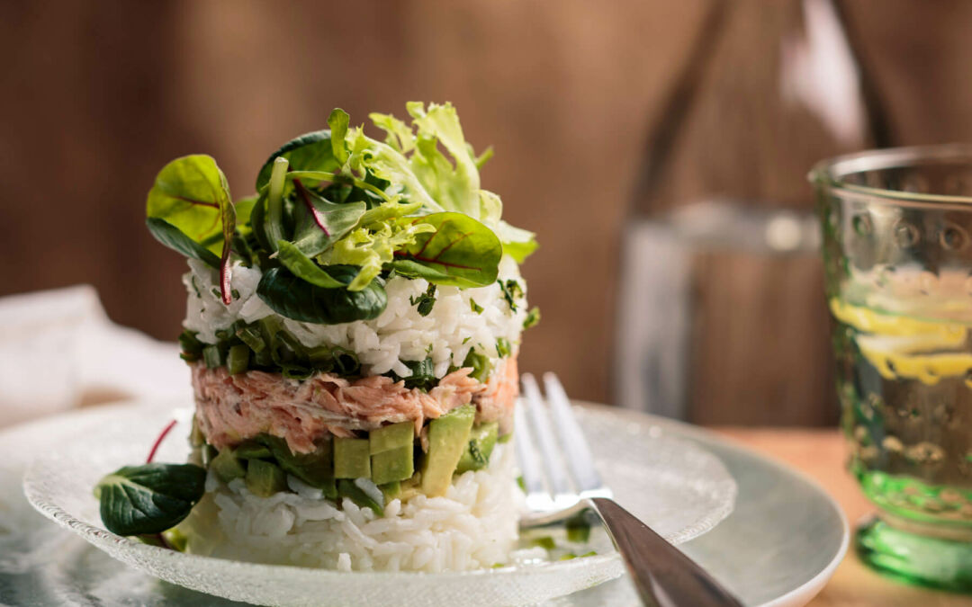 Restaurant-Style Dishes using Jasmine Rice