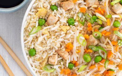 Deliciosas recetas asiáticas con arroz jazmín