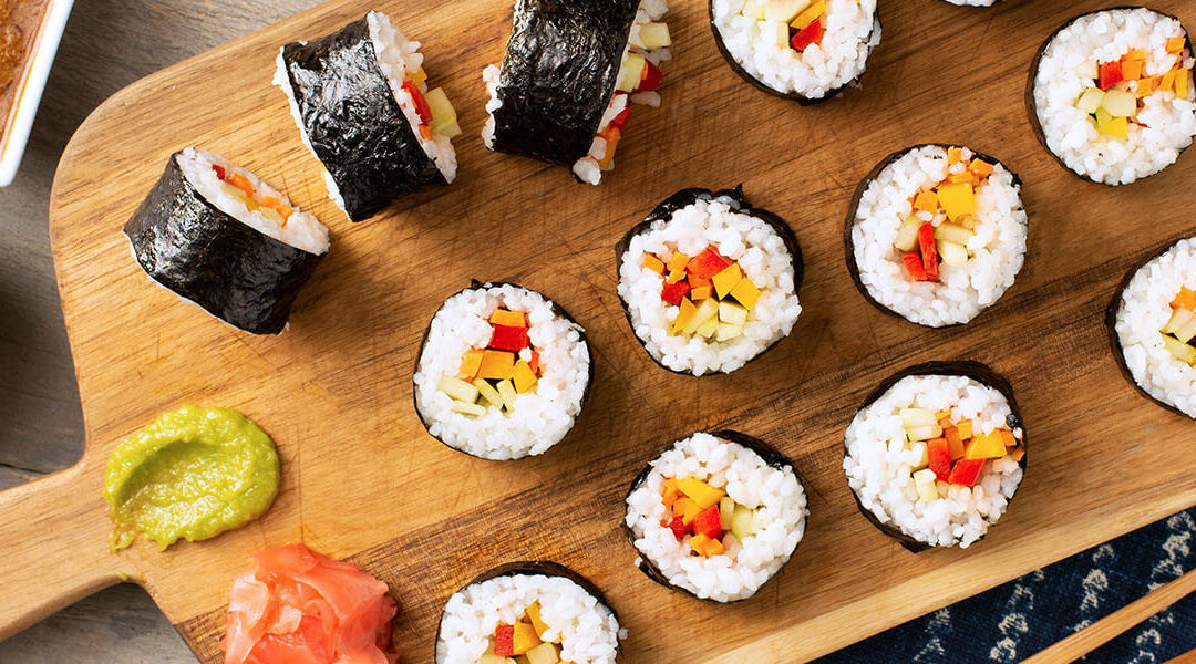 How To Make Homemade Sushi: Step by Step