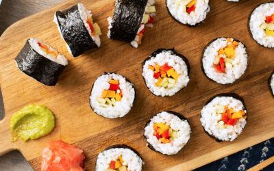 Cómo hacer sushi casero: paso a paso
