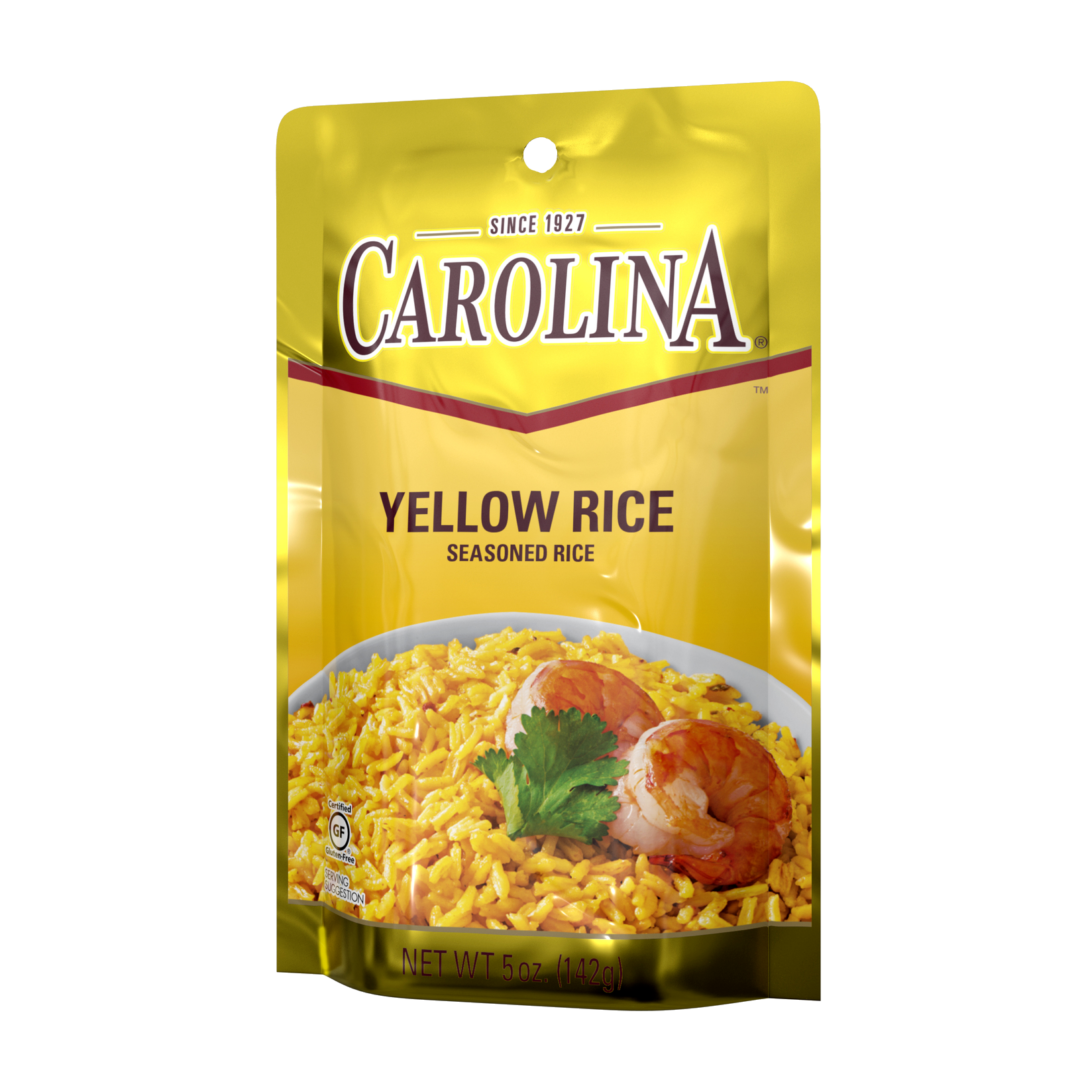 Classic Seasoned Yellow Rice With Saffron Carolina Rice