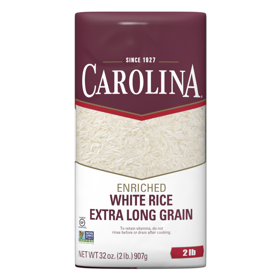 Carolina White Rice product package