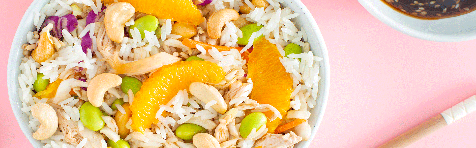Asian Chicken & Jasmine Rice Salad