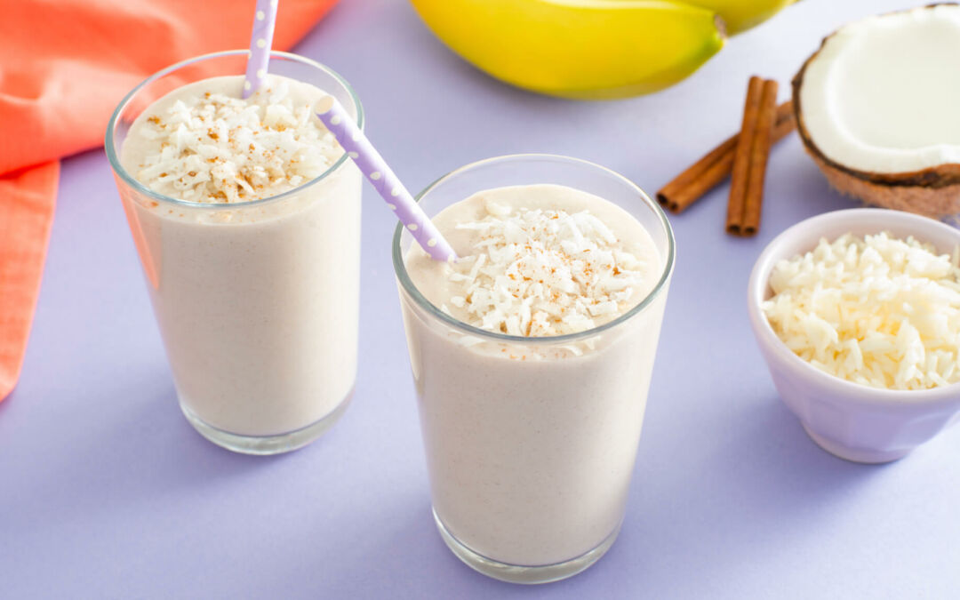 Summer Drinks and Shakes Made with Rice