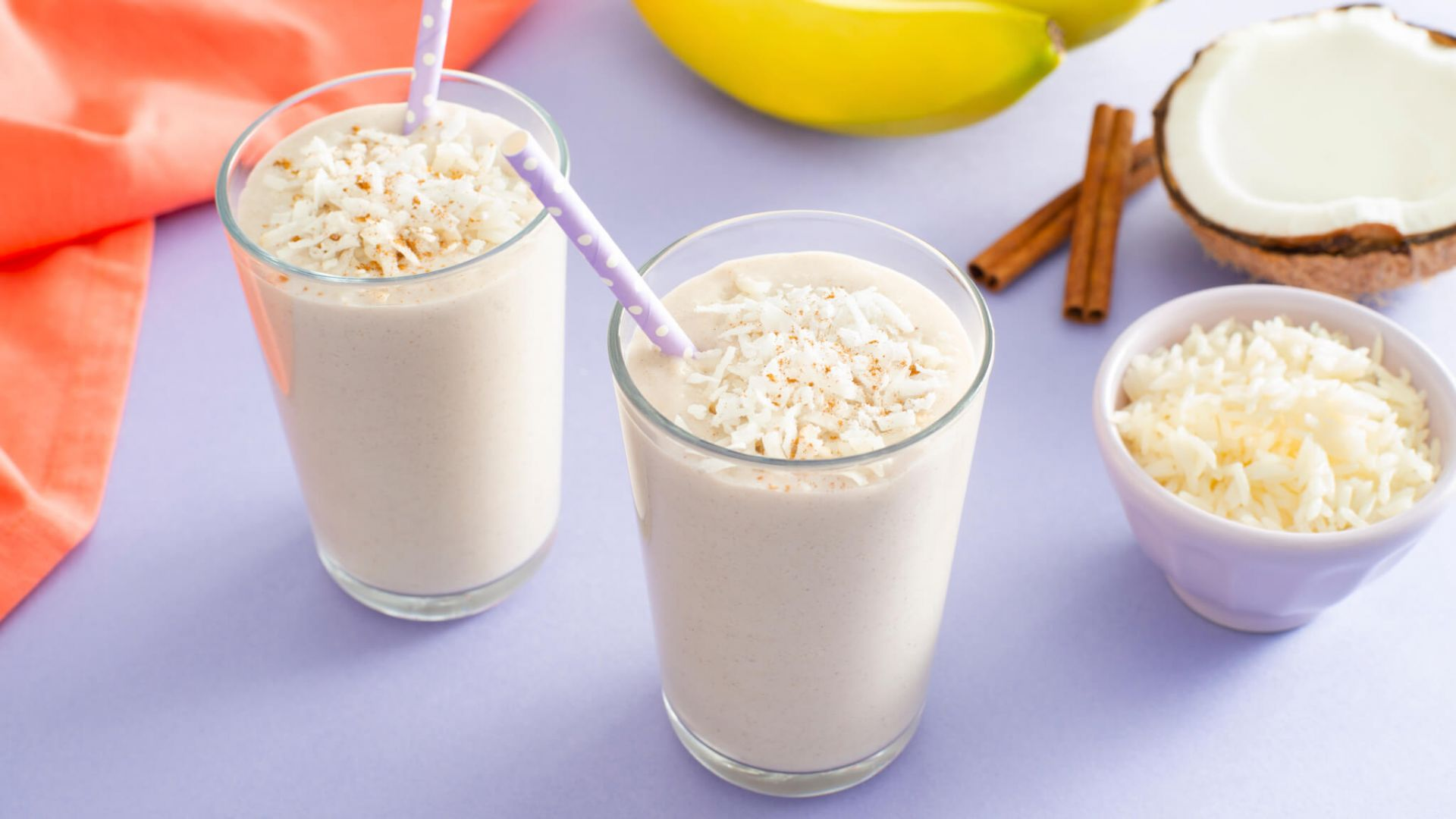 Coconut Rice Pudding Milkshake