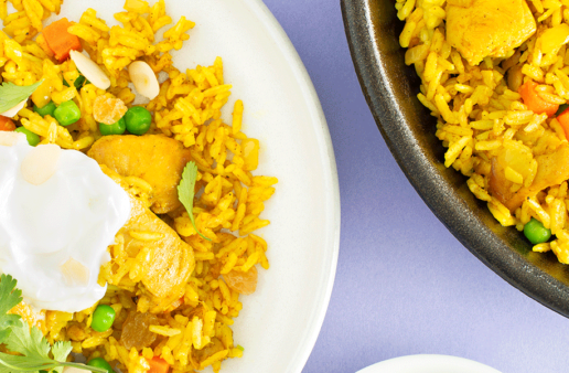 Everyday Chicken Biryani