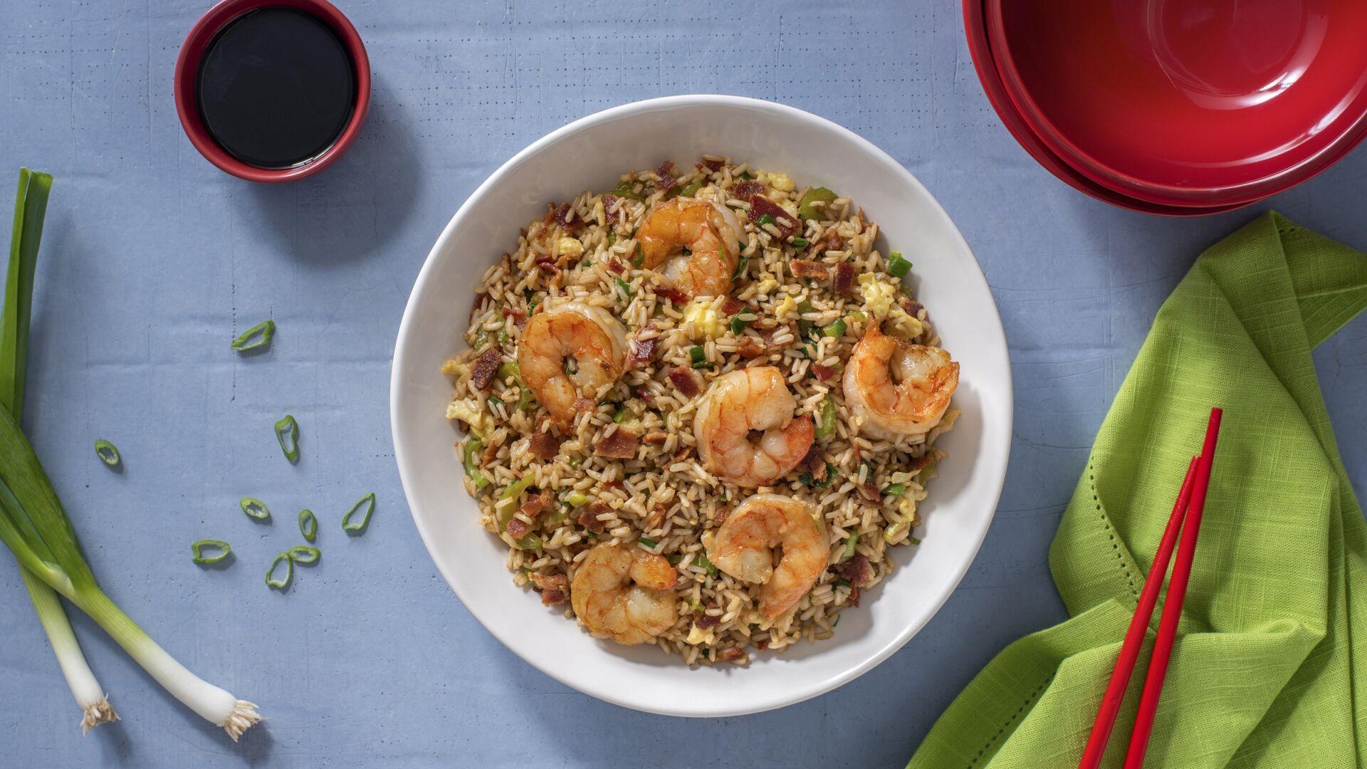 Recetas con arroz frito