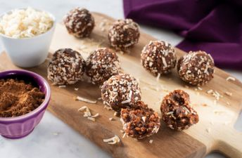 Jasmine with Quinoa Hazelnut & Dark Chocolate Energy Bites