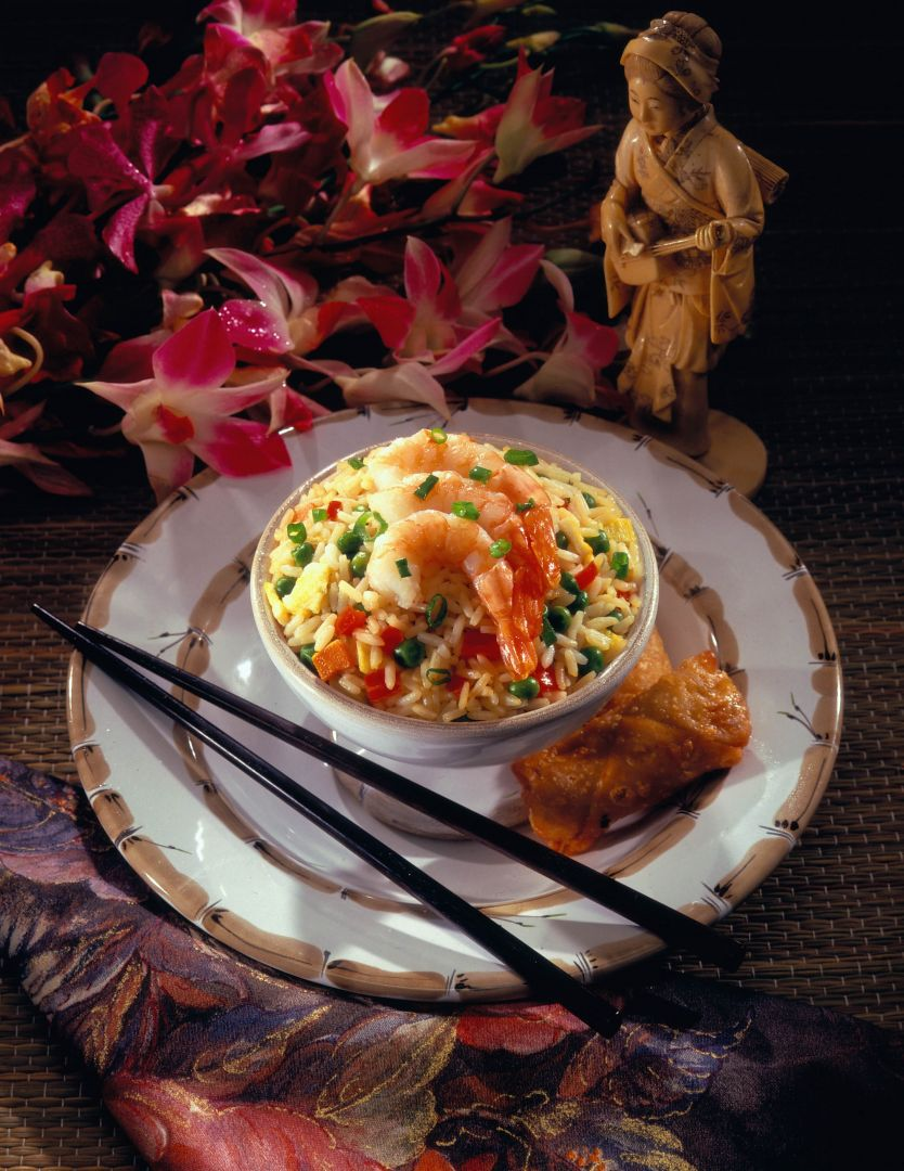 Pork Fried Rice with Bean Sprouts