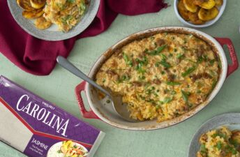 Tuna Casserole with Jasmine Rice and Canned Tuna