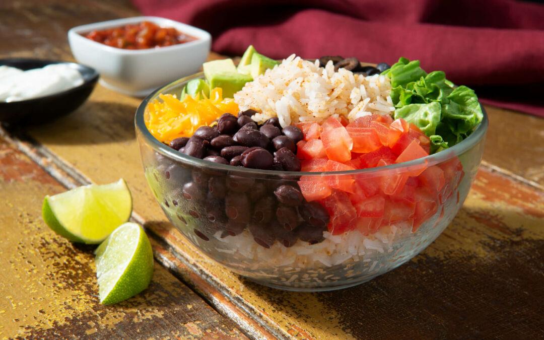 Comidas para presumir con arroz y frijoles