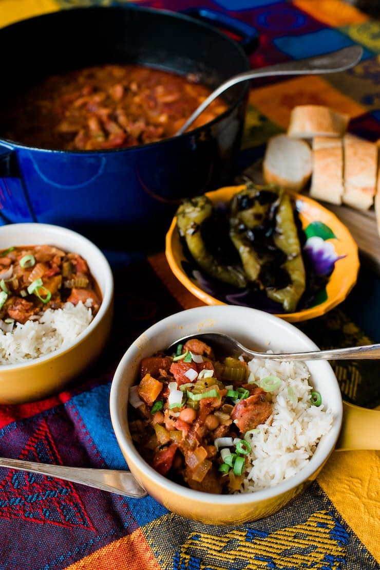 Jambalaya estilo mexicano