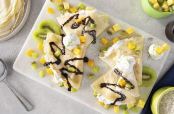 Rice-crepes-with-mango-pineapple-kiwi-lime-white-rice-and-coconut-cream
