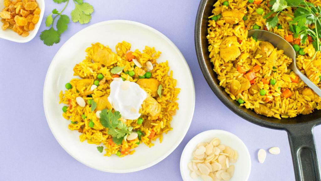 Indian-Chicken-Biryani-with-Jasmine-Rice-and-Greek-Yogurt