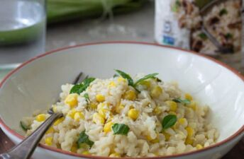 best sweet corn risotto