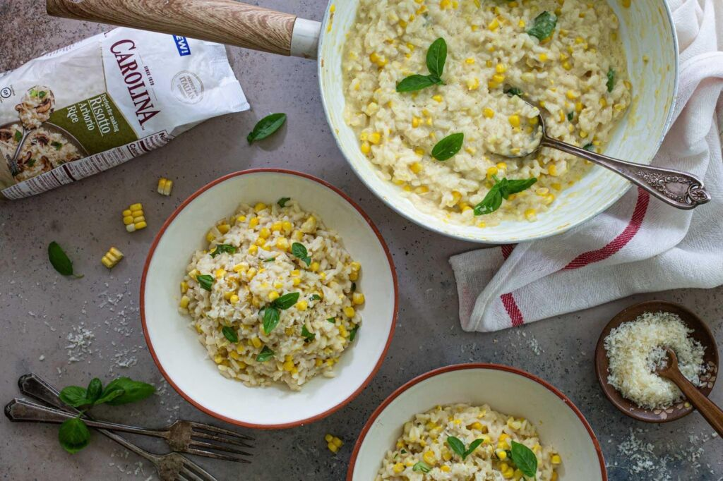 sweet-corn-risotto-with-arborio-rice