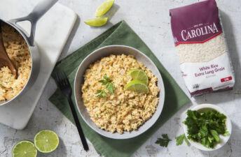 Creamy Chipotle Queso Rice