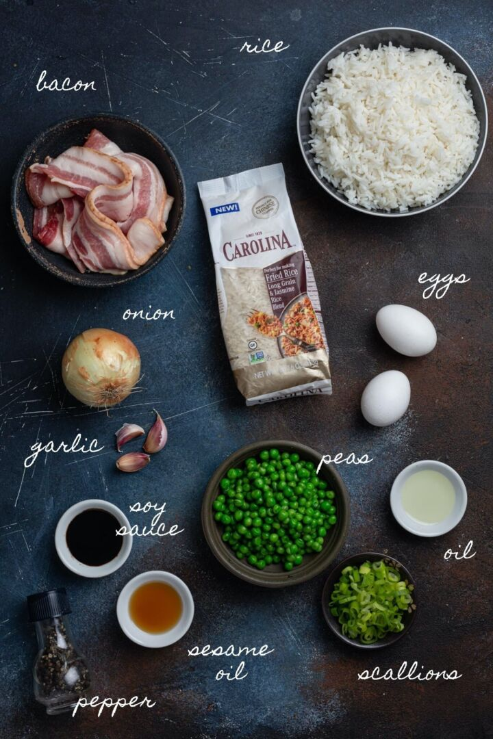 bacon-fried-rice-ingredients