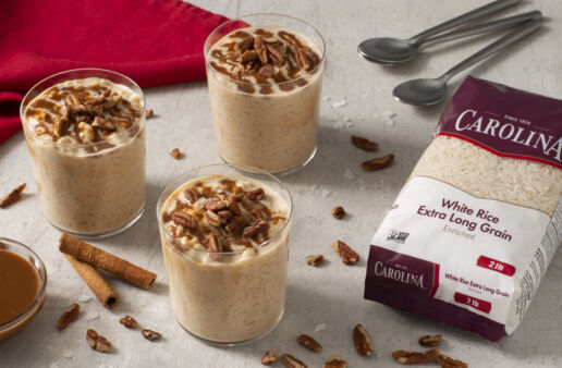 Cajeta-Rice-Pudding-with-white-rice-and-pecans