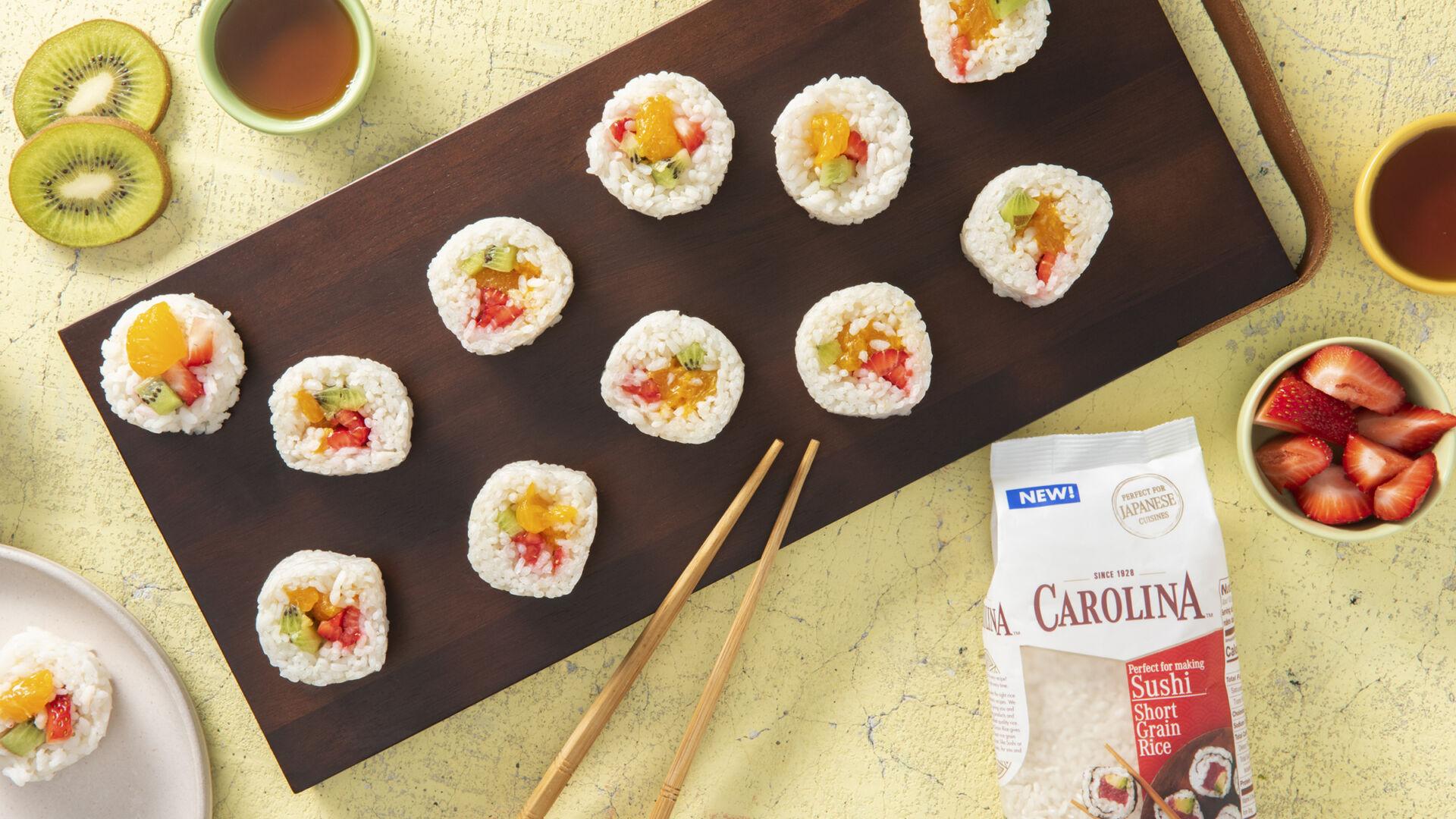 Fruit Sushi Rice