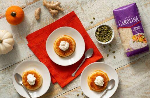 Ginger & Pumpkin Rice Creme Caramel