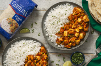 Chicken tikka Masala with Carolina Basmati Rice