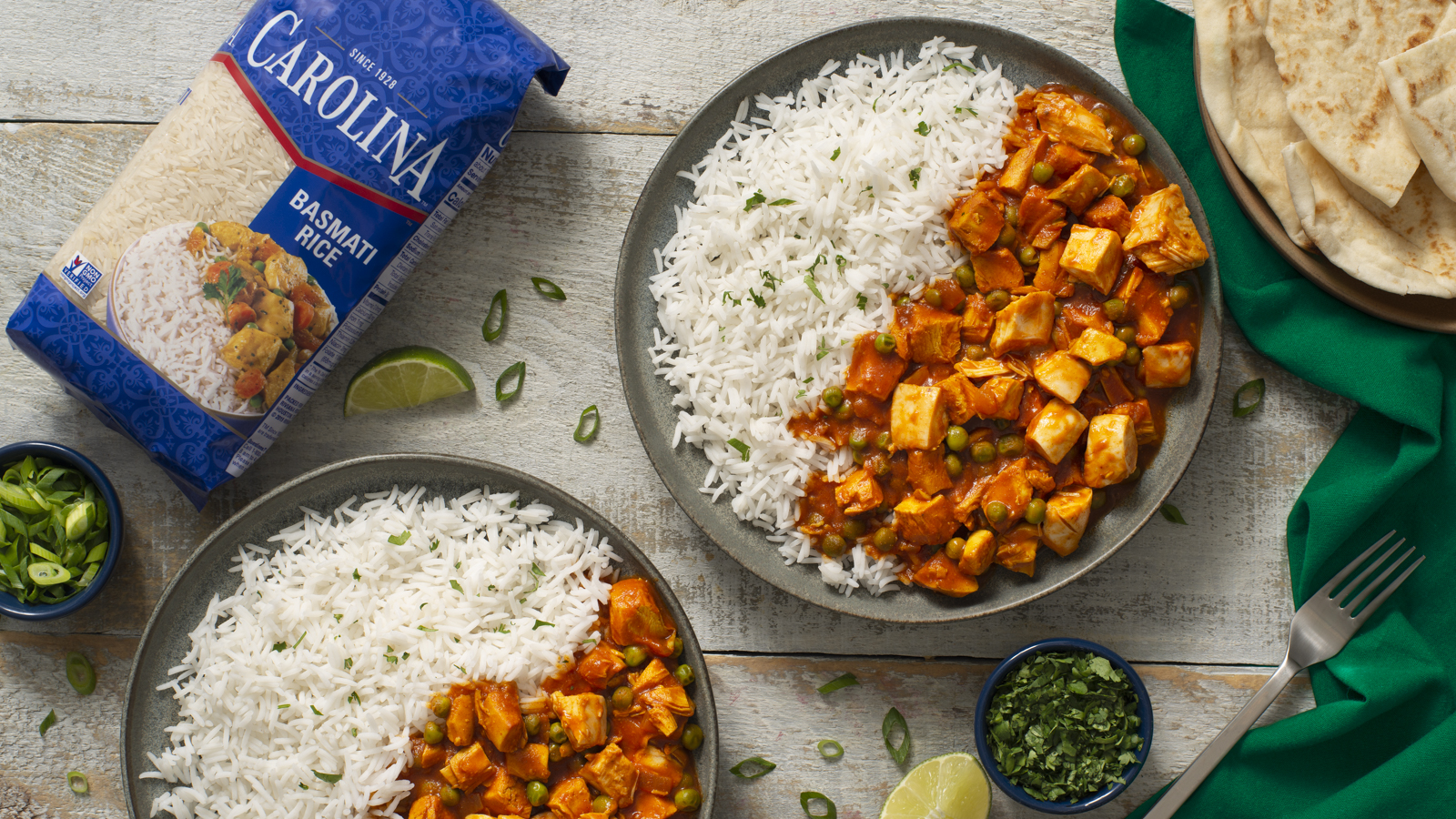 Easy Chicken Tikka Masala with Basmati Rice