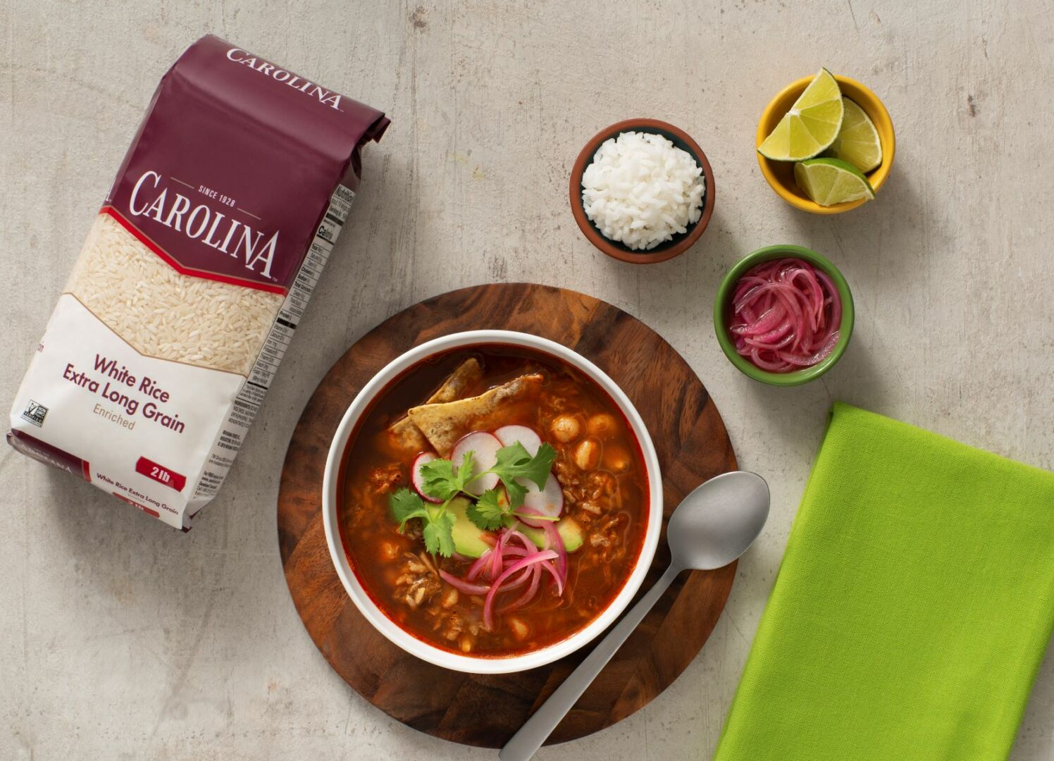 Red Pozole Rice