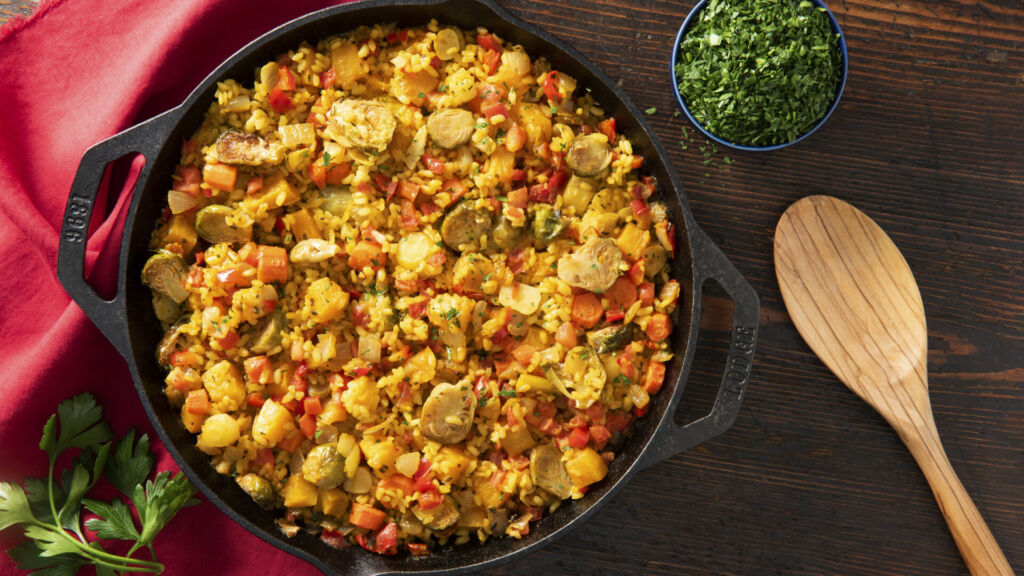 Roasted-Harvest-Veggie-Paella