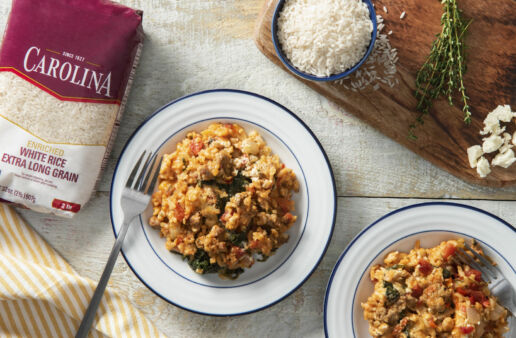 one-dish-casserole-with-white-beans-rice-and-chorizo