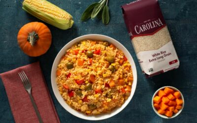 Rice Recipes using Fall-inspired Comfort Flavors